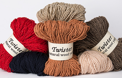 Twister Wool Yarn
