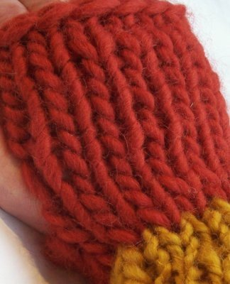 Roving Wrist Warmer Pattern